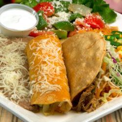 Enchilada Taco Combo