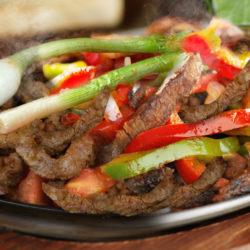 Steak or Chicken Fajitas